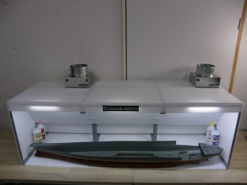 互換ブース 3台構成W1350mm